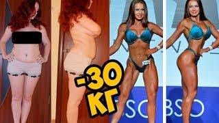 Как похудеть после родов и стать чемпионкой. История похудения