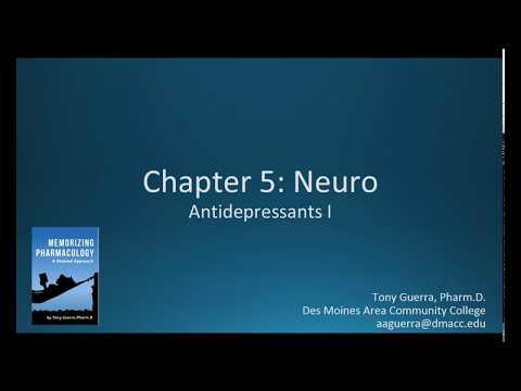 (CC) Antidepressants SSRI vs SNRI (CH 5 NEURO NAPLEX / NCLEX PHARMACOLOGY REVIEW)