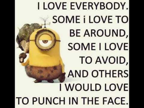 Minion Funny Minion Quotes Facebook Minion Quotes Funny Youtube