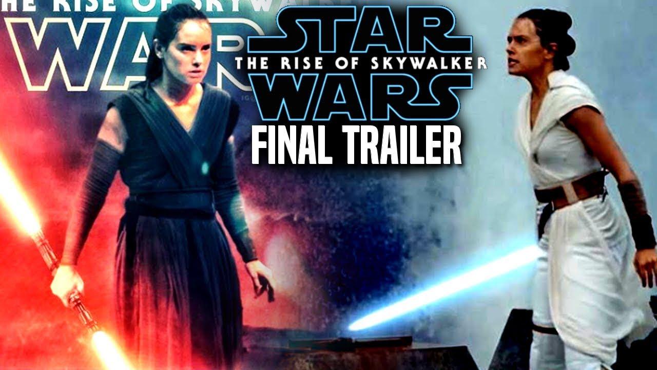 The Rise Of Skywalker Final Trailer INSANE News Revealed! (Star Wars Episode 9 Trailer 3)