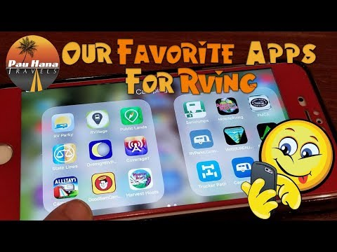 Favorite RV Apps for RVer's recommended by Full time RVer's