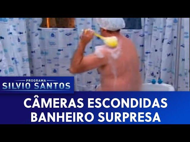 Câmera Escondida: Banheiro Surpresa (Banheira)