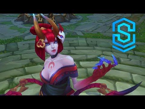 Blood Moon Evelynn Skin Spotlight - Pre-Release - League of Legends