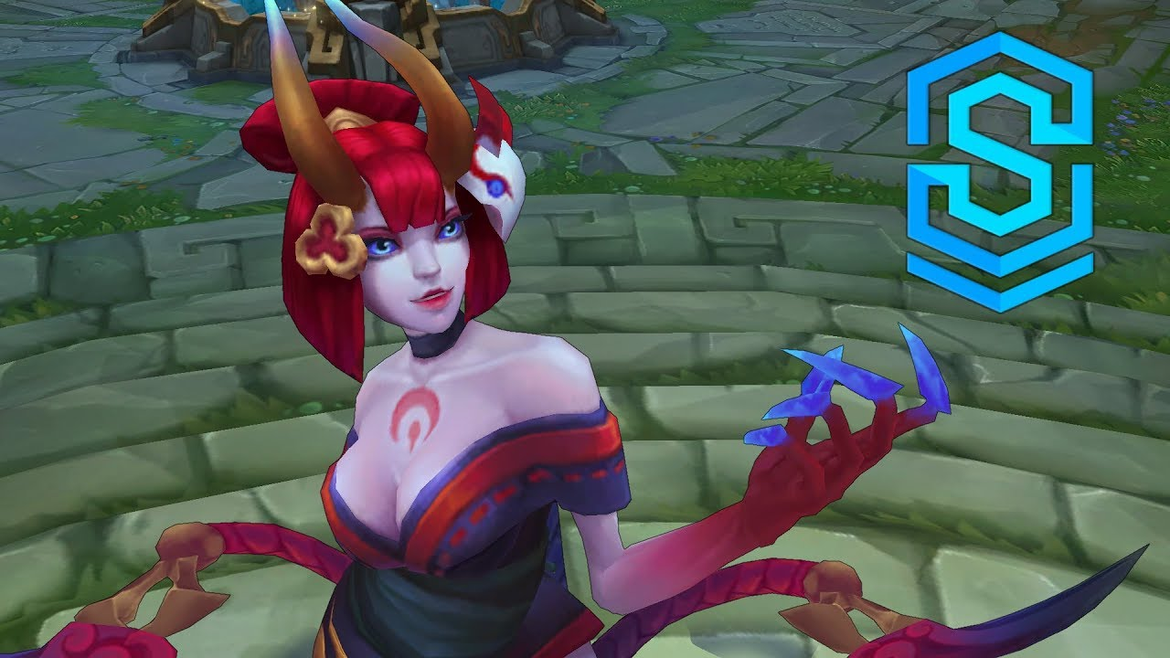 Blood Moon Evelynn Skin Spotlight - Pre-Release - League of Legends