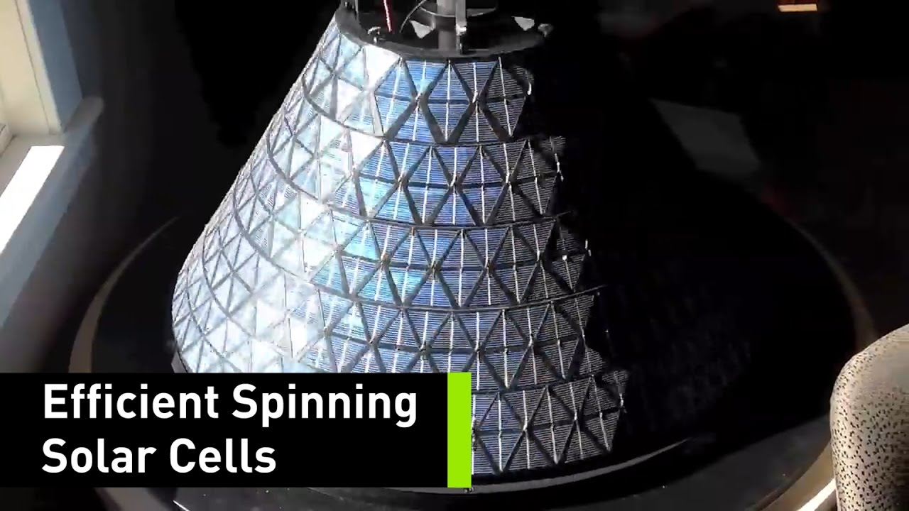 These Spinning Solar Cells Generate 20 Times More Power