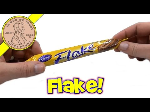Cadbury Flake, The Crumbliest Flakiest Milk Chocolate Bar -