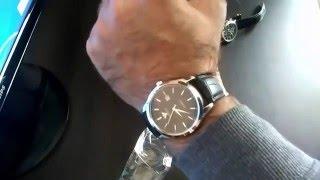 Мужские часы Yazole и Защитное Стекло на Lenovo S650.