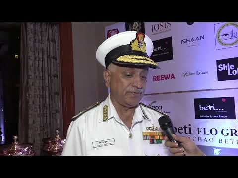 Vice Admiral Mr. Girish Luthra | 20th BETI FLO GR8 Women Awards 2018