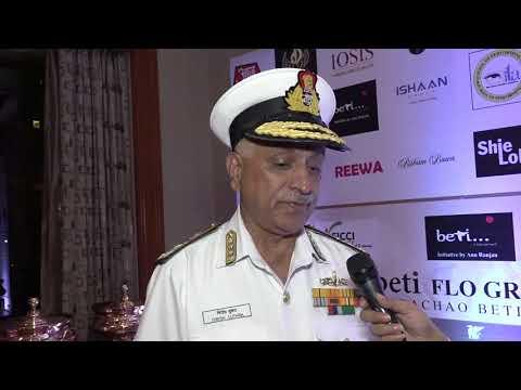 Vice Admiral Mr. Girish Luthra | 20th BETI FLO GR8 Women Awards 2018