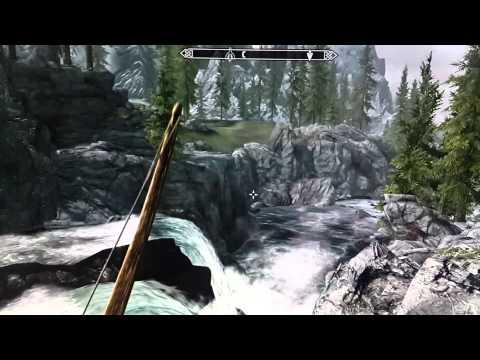Мерцание воды (текстуры) в игре Skyrim