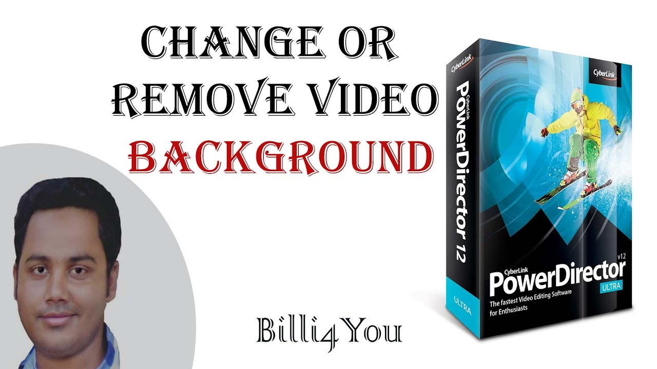 Background image remover - How To Change Or Remove Video Background Using Chroma Key Cyberlink Powerdirector 12 Hindi Urdu