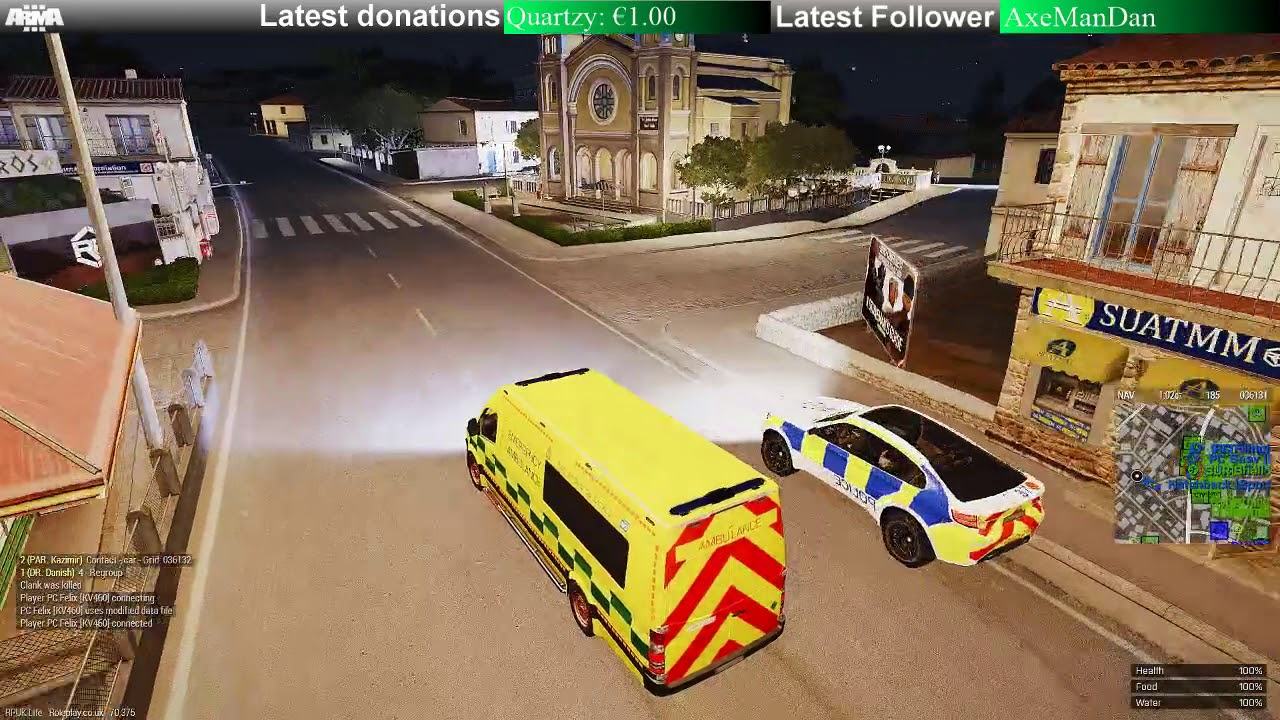 Arma 3 - NHS - Roleplay co uk - Soundboard installed!, Amazing Patient  Drex! & Pinkie Pie