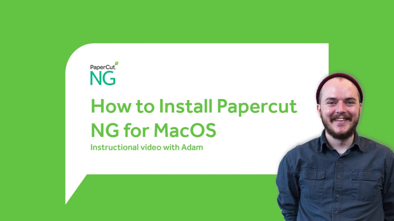 Quick install: Apple Mac