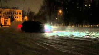 Не много дрифта на полном приводе(BMW X5 e70 4.8i, зимой на площадке боком., 2016-01-12T13:23:50.000Z)