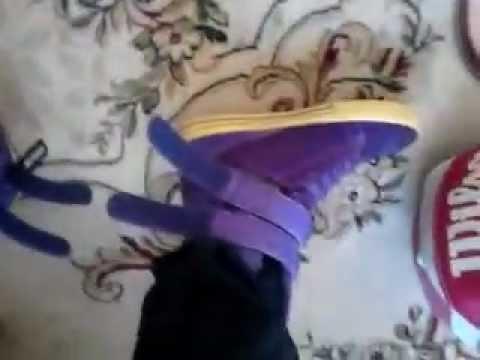 Supra Tk Society , Purple Wear