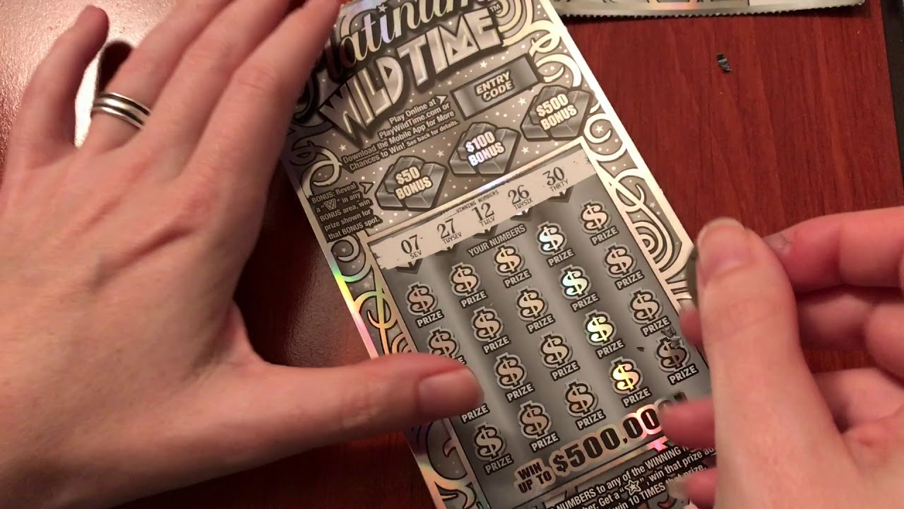 New $10 Platinum Wild Time - ScratchTicketsHere - 10/5/17