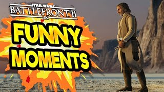 Star Wars Battlefront 2 Funny & Random Moments [FUNTAGE] #41