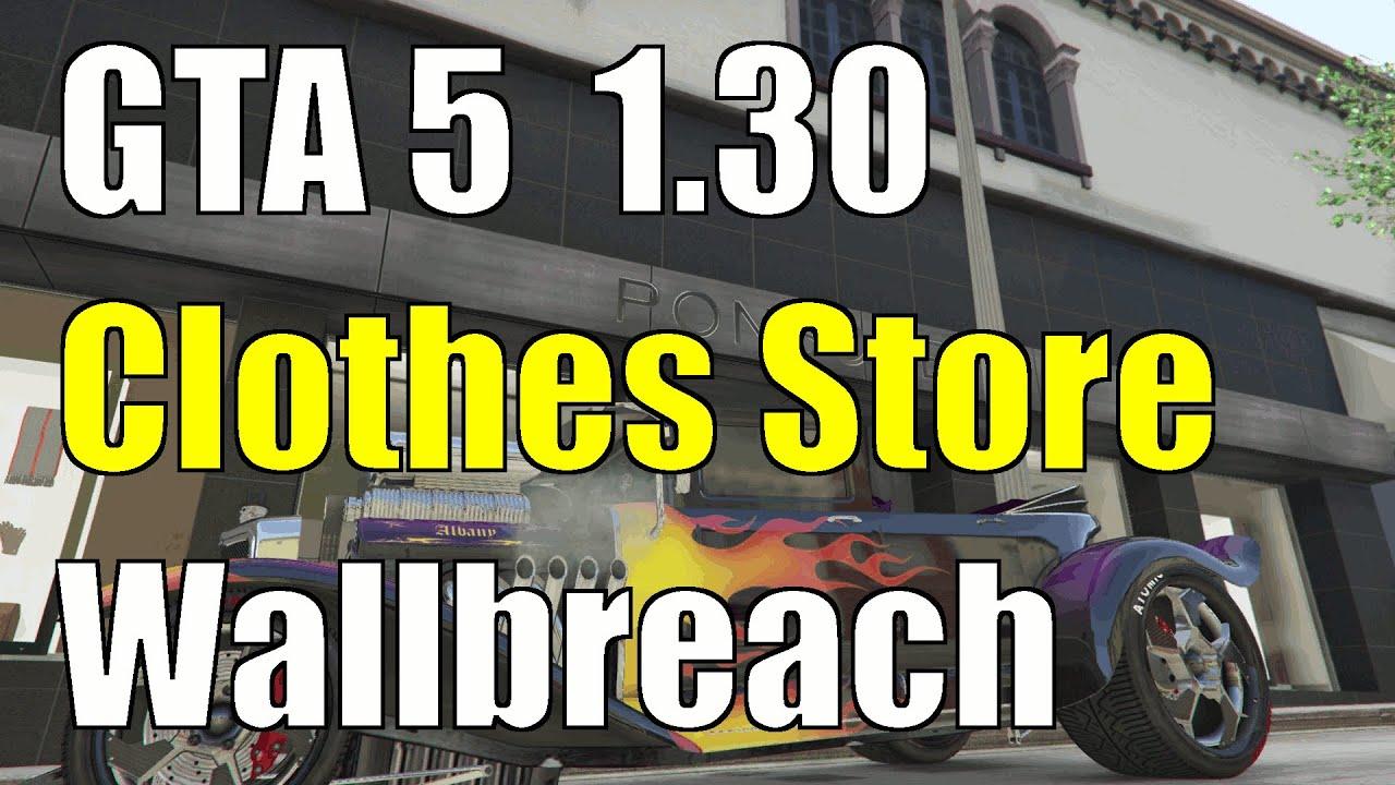 Gta 5 clothes stores