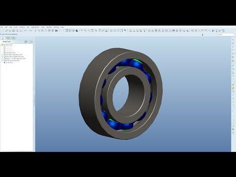SKF 6002 bearing ProE
