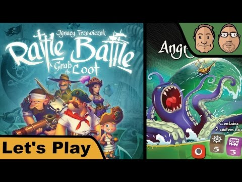 Rattle Battle Grab the Loot - Angry Ocean - Let's Play mit Peat + Alex