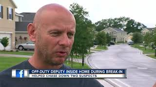 Off-duty deputy finds burglars in his mother-in-law's house; helps get them arrested in Riverview