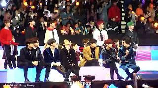 171201 Mama - Exo Power Reaction: Nct127, Got7, Red Velvet, Super Junior Towards