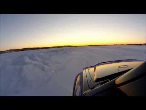 Ice road north of Yellowknife, NT