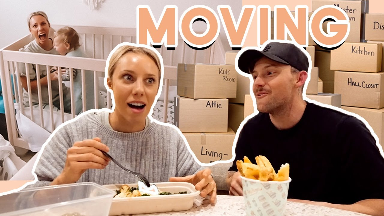We're MOVING! Let's pack and FINALLY get into the new house!