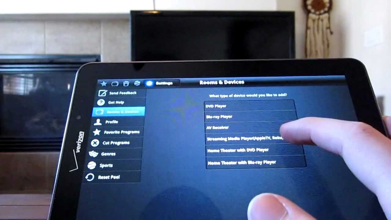 Use Your Android Tablet as a Remote Control