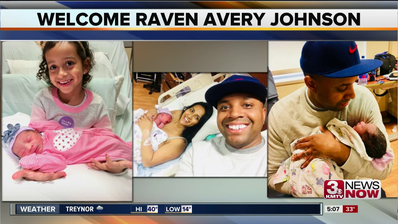 Kmtv Anchor James Johnson Welcomes A Baby Girl Youtube