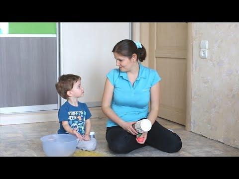 ЧЕМ ЗАНЯТЬ МАЛЫША ДОМА - подвижные игры для детей 2 - 3 лет