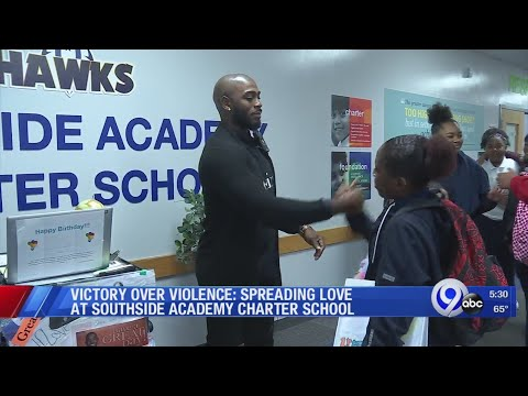Victory Over Violence: Spreading love at Southside Academy Charter School