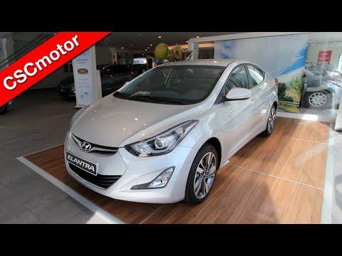Hyundai Elantra 2014 Revisin en profundidad y encendido