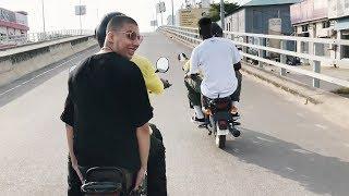 Di-Meh, Slimka et Pink Flamingo s'envolent pour le Bénin après Paléo: épisode 1/4