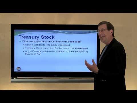14 -- Treasury Stock - YouTube
