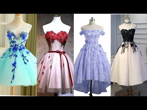 cute-tulle-lace-off-shoulder-short-prom-dresses-designs