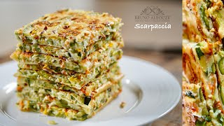 Zucchini Tart Scarpaccia 🇺🇸🇫🇷 – Bruno Albouze