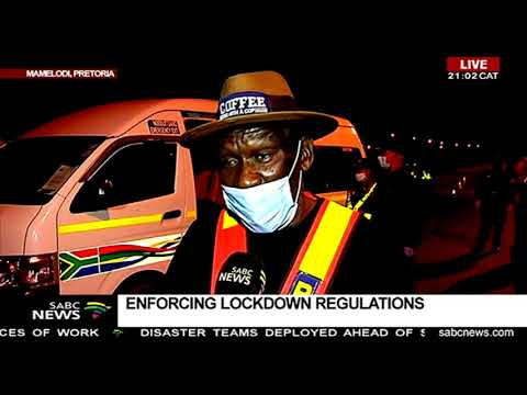 Minister Cele in Pretoria to enforce lockdown regulations