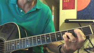 Guitar 1 Lesson 7: Song Tutorial- Let The River Flow
