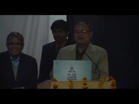 16TH Institute Lecture Series, IIT(BHU), delivered by Dr. Kota Harinarayana