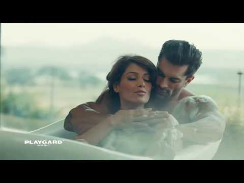 Playgard Condoms   Bipasha Basu & Karan Grover Super Dotted Condoms Ads Give Some More