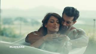 Playgard Condoms   Bipasha Basu & Karan Grover Super Dotted Condoms Ads Give Some More