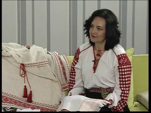 Ранок-панок. Олена Даніва про автентичну українську вишивку