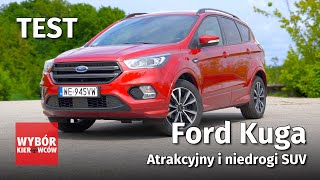 Ford Kuga - atrakcyjny i niedrogi SUV - TEST