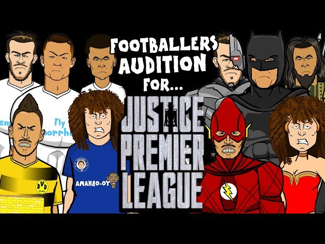 👊FOOTBALLERS AUDITION for JUSTICE LEAGUE!👊 (Parody)