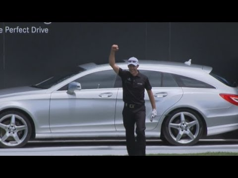 Stuart Manley aces No. 3 in Round 3 of ISPS HANDA: Shot of the Day