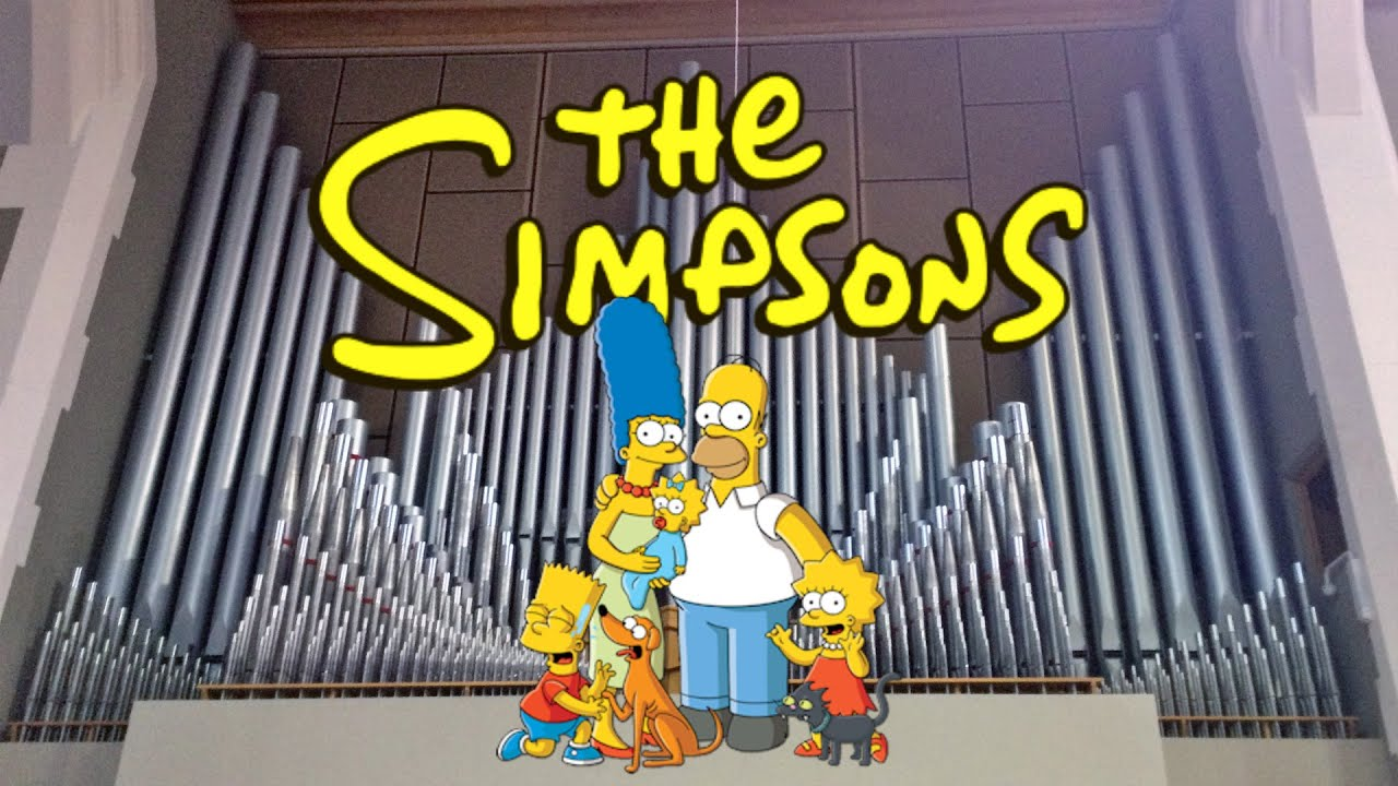 "Theme from ""The Simpsons"" (Organ Cover)"
