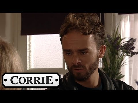 Coronation Street - Nick Gets a Hostile Welcome From David