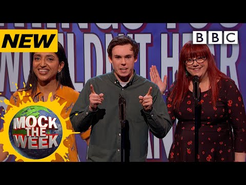 Things you wouldn't hear over a tannoy   Mock The Week - BBC