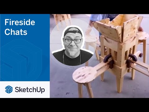 SketchUp for Creators – Izzy Swan | The Fireside Chat Series Season 2 Ep. 3